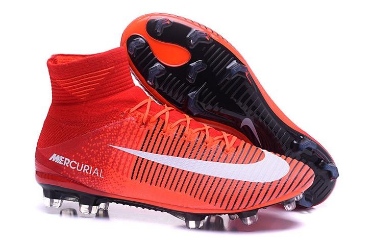 c3d317977cf7 Prev NIke Mercurial Superfly V FG ACC Kids Soccers Shoes Red Orange Black  White