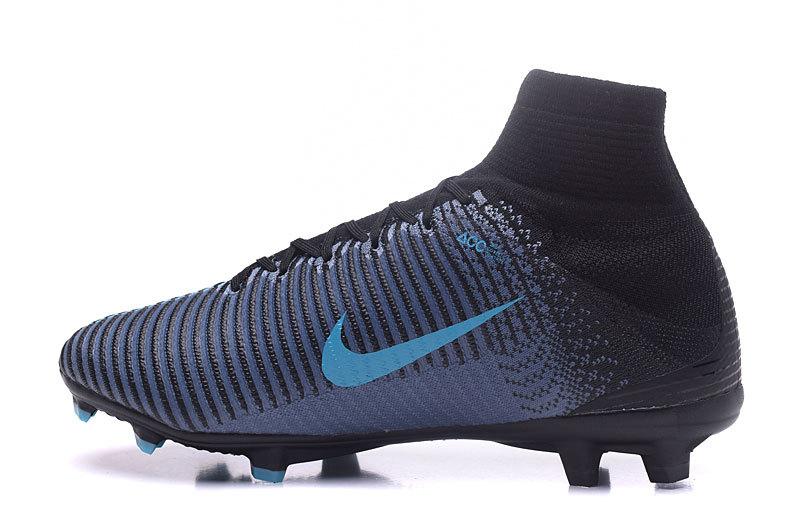 Nike Mercurial Superfly V FG Blue Black