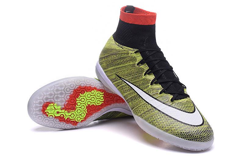 nowy styl najlepiej sprzedający się wiele modnych Nike Mercurial X Proximo Street IC Indoor Multi Color Soccers Cleats  718777-011