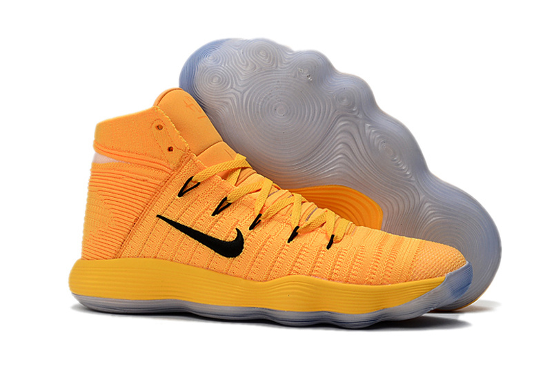 new arrival 2d900 7a2a8 Prev Nike Hyperdunk Youth Big Kid Basketball Shoes Yellow Black