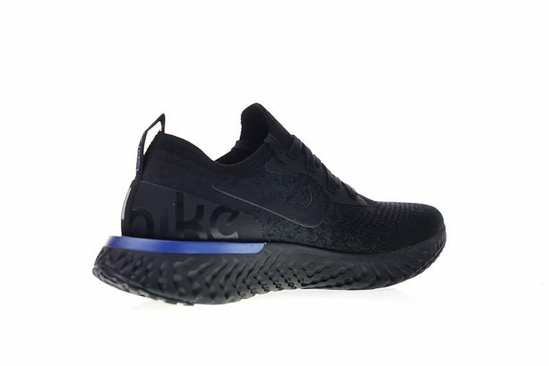 cc8ec09f4cc Nike EPIC React Flyknit Running White Triple Black Racer Blue AQ0067-004