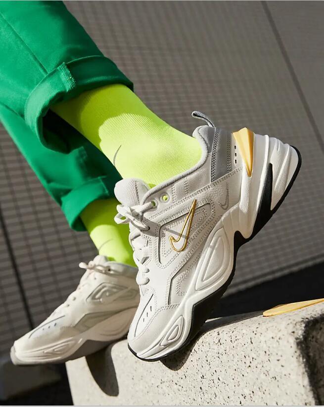 Nike M2K Tekno Platinum Tint Wolf Grey Summit White Celery AO3108-009