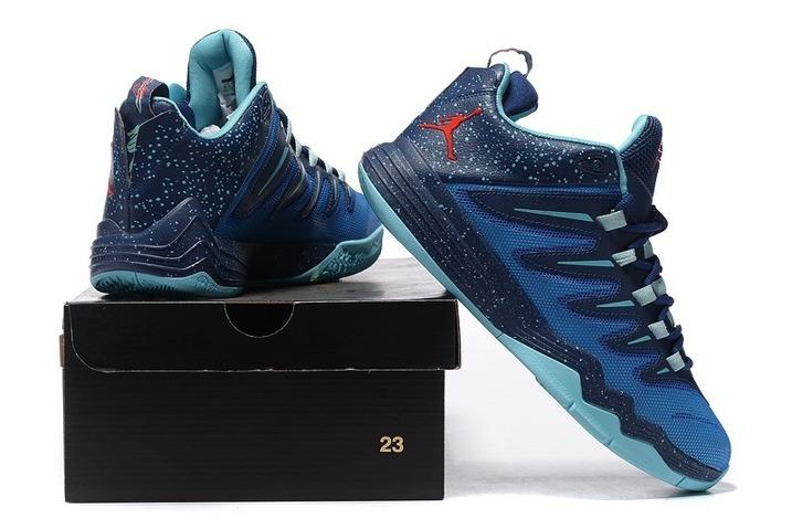 Nike JORDAN CP3 IX 9 Men Basketball Shoes Chris Paul Soar Infrared 23 Mid Navy Copa 810868 406