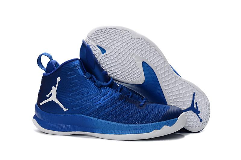 ab97e4d1c1e Prev Nike Jordan Super Fly 5 Blake Griffin Basketball Shoes Royal Blue  White 844677-401. Zoom