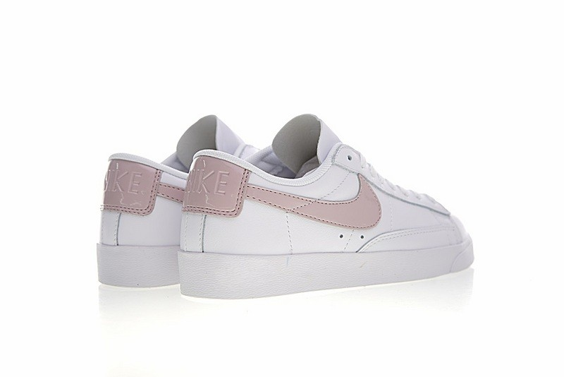 pretty cool 100% top quality factory authentic Nike Blazer Low Le White Particle Rose Women Shoes AA3961-105 ...