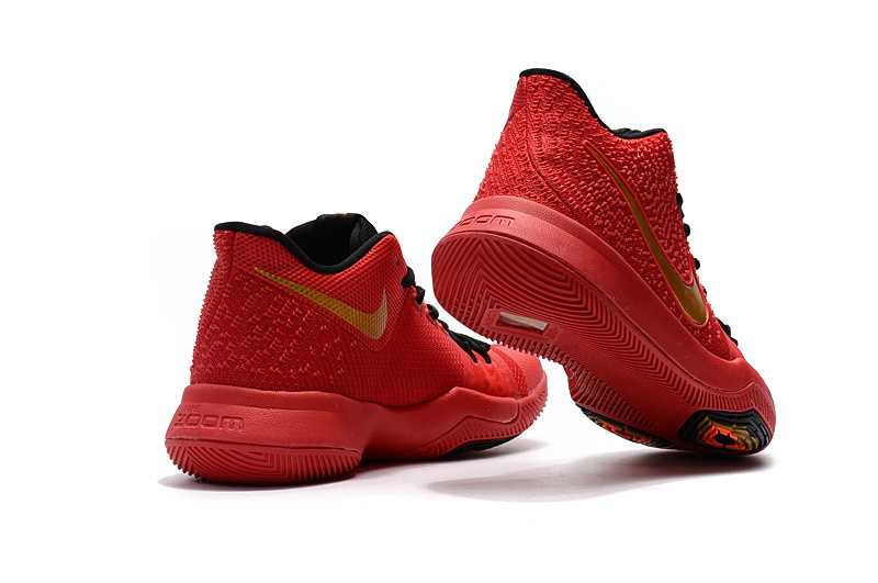 info for d81a3 a8fec Nike Zoom KYRIE 3 EP Youth Big RED Kid Shoes