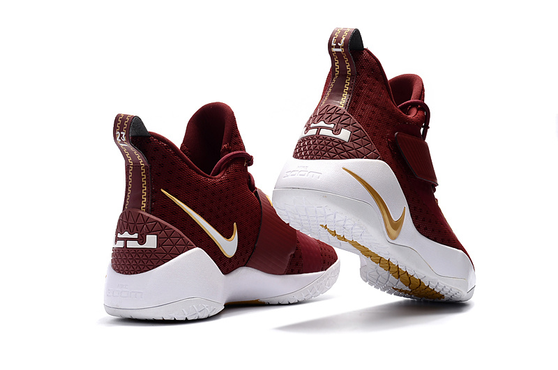 more photos 1e010 cba18 Nike Zoom Lebron Soldier 11 XI knight red white Men Basketball Shoes