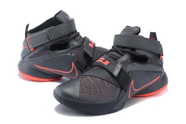 release date: 28e78 ee119 Nike Lebron Soldier IX 9 PRM EP Dark Grey LBJ Men Basketball Shoes  749491-008