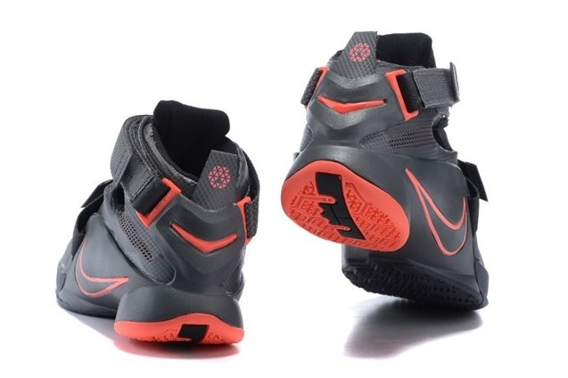 release date: 37cd3 edd7b Nike Lebron Soldier IX 9 PRM EP Dark Grey LBJ Men Basketball Shoes  749491-008