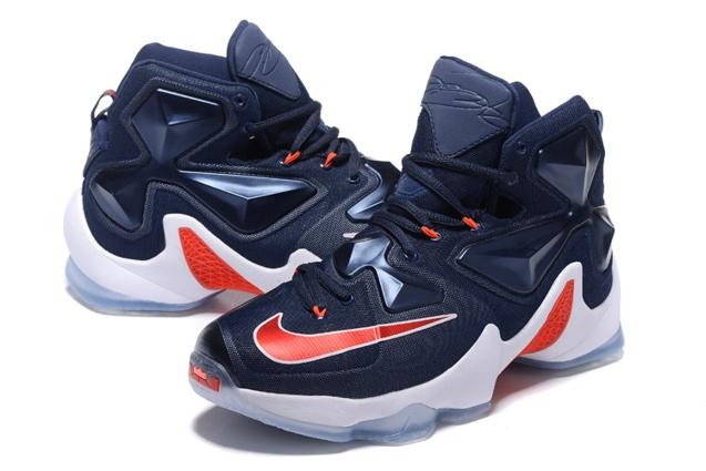 Nike Lebron Xiii Ep 13 Usa Independence Day Lebron James Navy Men Basketball Shoes 807220 461 Sepsale