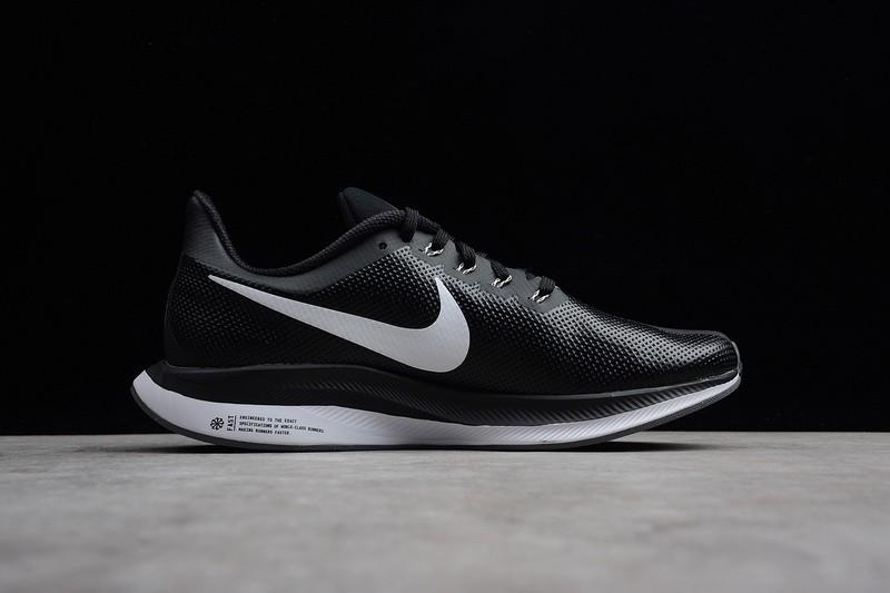 sports shoes 5ea4d 56d05 Nike Air Zoom Pegasus 35 Turbo Leather Black White AJ4114-011