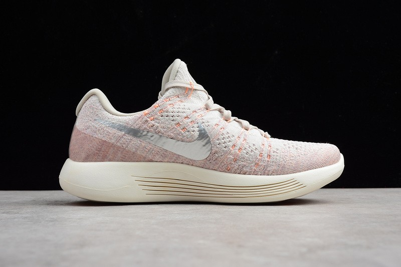 huge selection of 76dcb d9136 ... Nike Lunarepic Low Flyknit 2.0 Pale Grey Silver Pink White 863780-005  ...