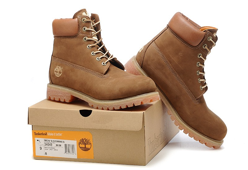 Timberland 6 inch Premium Waterproof Boots Men Brown